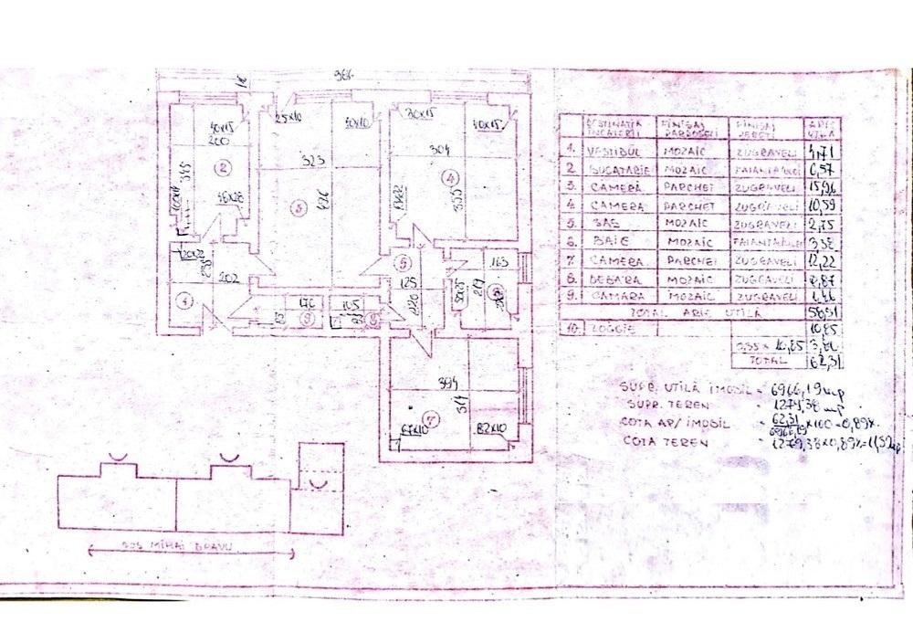 Imagine 1 Apartament 3 camere metrou Piata Iancului