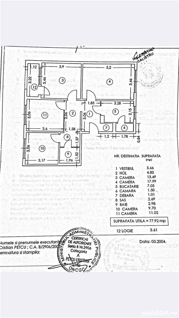 Imagine 1 Apartament 4 camere 1 Decembrie 1918 - Trapezului