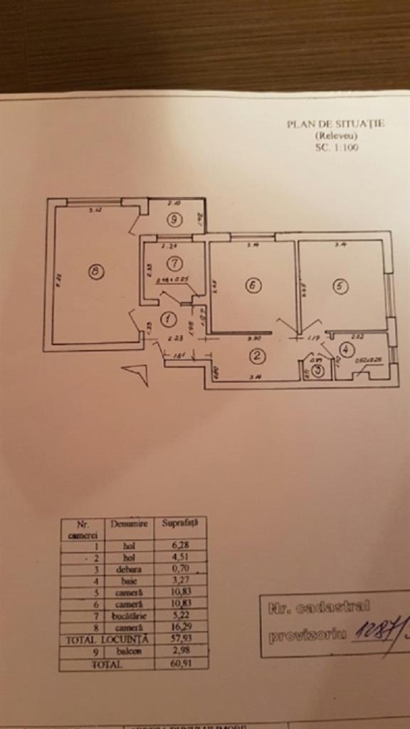Imagine 3 Apartament 3 camere  Titan