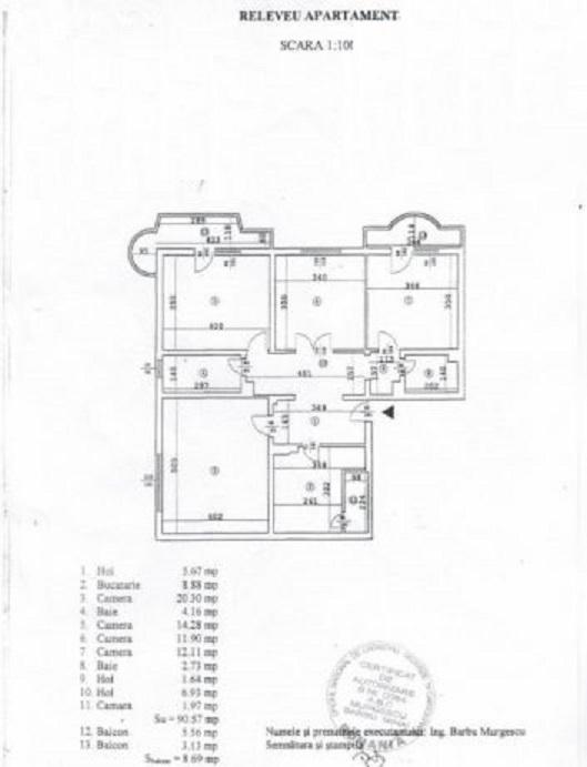 Imagine 1 Apartament 4 camere Unirii