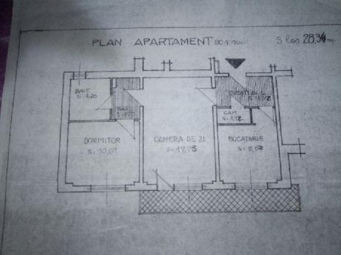 Imagine anunț Apartament 2 camere Bdul Tineretului