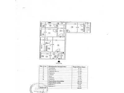 Apartament 3 camere Baba Novac-Parc Titan
