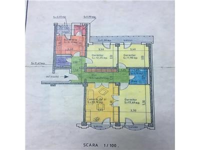 Apartament 4 camere Bdul Decebal