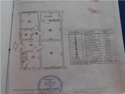 Apartament 3 camere Metrou 1 Decembrie 1918, Trapezului