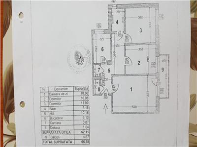 Apartament 3 camere Titan Policlinica , Bloc H,