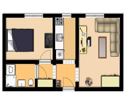 Apartament 2 camere , Metrou 1 Decembrie 1918