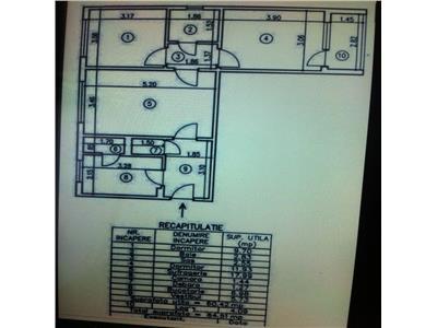 Apartament 3 camere  1 Decembrie 1918